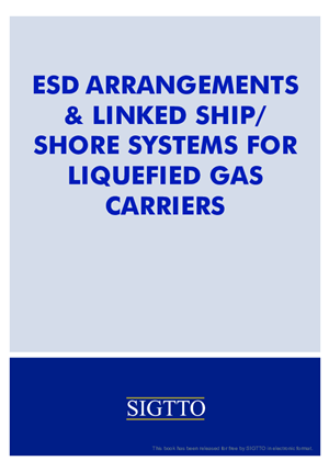 ESD Arrangements & Linked Ship/ Shore Systems for Liquefied Gas Carriers