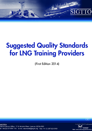 Suggested Quality Standards for LNG Training Providers