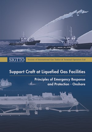 Support Craft at Liquefied Gas Facilities. Principles of Emergency Response and Protection - Onshore