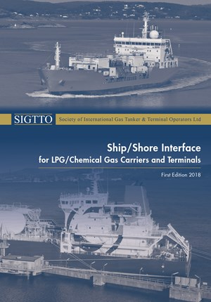 Publication cover for Ship/Shore Interface for LPG/Chemical Gas Carriers and Terminals