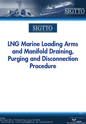 LNG Marine Loading Arms and Manifold Draining, Purging and Disconnection Procedure