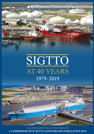 Publication cover for SIGTTO at 40 Years