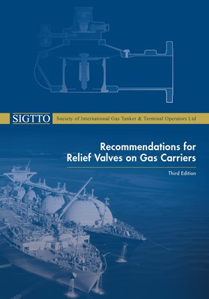 Publication cover for Recommendations for Relief Valves on Gas Carriers